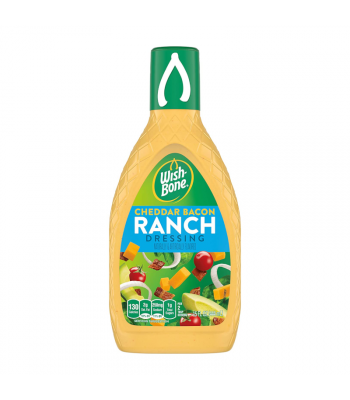 Wishbone Cheddar & Bacon Ranch Dressing 15oz (444ml) Sauces & Condiments