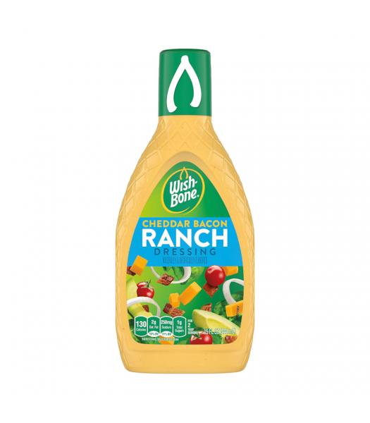 Wishbone Cheddar & Bacon Ranch Dressing 15oz (444ml) Sauces & Condiments