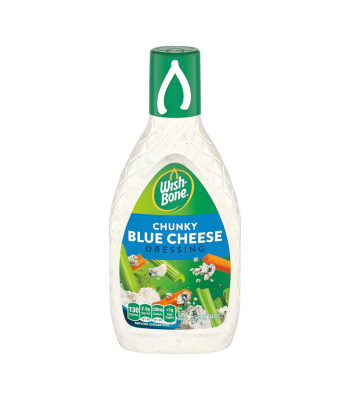 Wishbone Chunky Blue Cheese Dressing 15oz (444ml) Food and Groceries