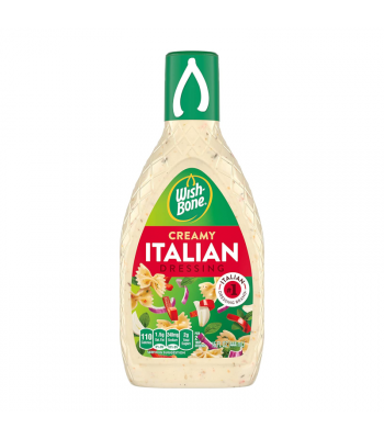 Clearance Special - Wishbone Creamy Italian Dressing 15oz (444ml) **Best Before: Jan 21** Clearance Zone
