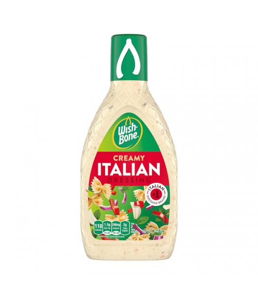 Clearance Special - Wishbone Creamy Italian Dressing 15oz (444ml) **Best Before: Jan 21** Clearance Zone