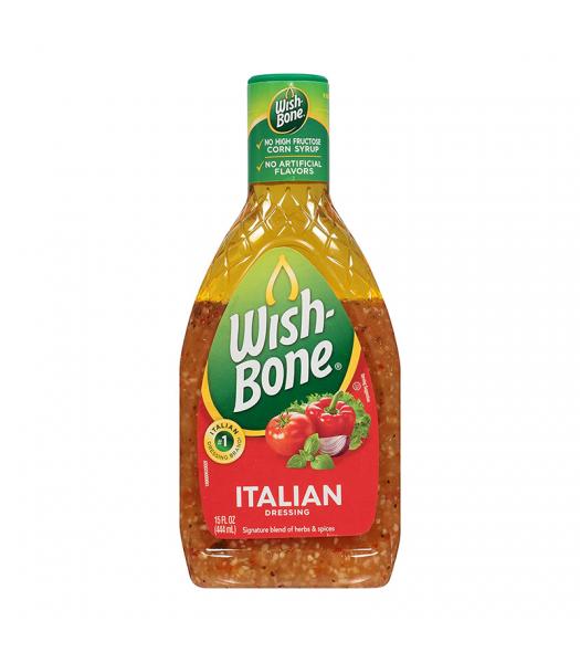 Wishbone Italian Dressing - 15oz (444ml) Food and Groceries
