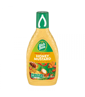 Clearance Special - Wishbone Sweet & Spicy Honey Mustard Dressing 15oz (444ml) **Best Before: April 21** Clearance Zone