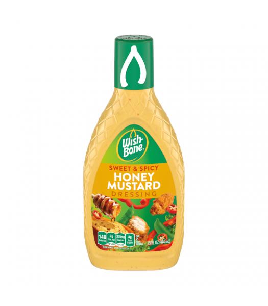 Wishbone Sweet & Spicy Honey Mustard Dressing 15oz (444ml) Food and Groceries