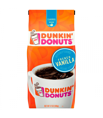 Dunkin' Donuts French Vanilla Ground Coffee 12oz (340g) Hot Drinks Dunkin' Donuts