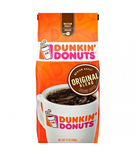 Dunkin' Donuts Original Blend Ground Coffee 12oz (340g) Hot Drinks Dunkin' Donuts