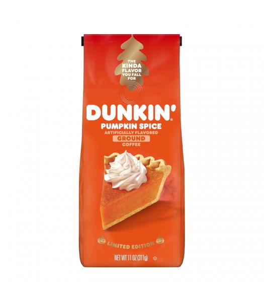 Dunkin' Donuts Pumpkin Spice Ground Coffee - 11oz (311g) Soda and Drinks Dunkin' Donuts