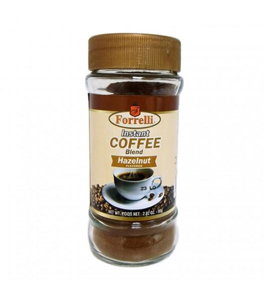 Forrelli Instant Coffee Hazelnut 2.82oz (80g) Soda and Drinks