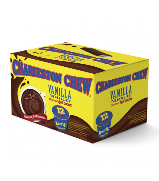 Charleston Chew Vanilla Flavoured Hot Cocoa - Keurig K-Cup Compatible - 12-Pack Soda and Drinks