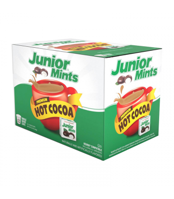 Junior Mints Flavoured Hot Cocoa - Keurig K-Cup Compatible - 12-Pack Soda and Drinks