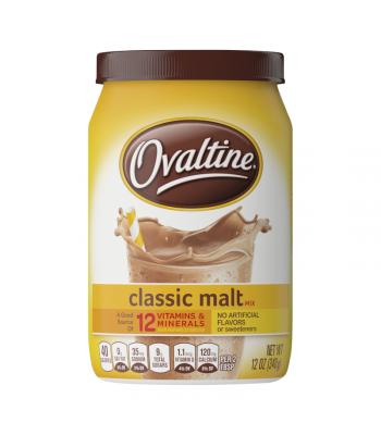 Ovaltine Classic Malt Drink Mix (US) - 12oz (340g) Soda and Drinks
