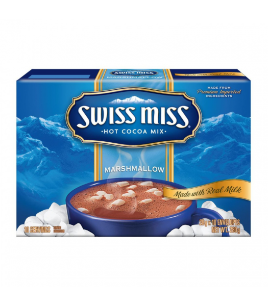 Swiss Miss Marshmallow Hot Cocoa Mix 10-Pack - 280g Soda and Drinks Swiss Miss