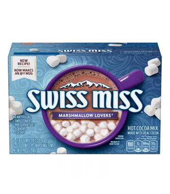 Swiss Miss Marshmallow Lovers Hot Cocoa Mix - 9.48oz (268g) Soda and Drinks Swiss Miss