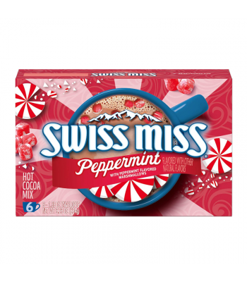 Swiss Miss Peppermint Hot Cocoa Mix - 6-Pack - 8.28oz (234g) Soda and Drinks Swiss Miss