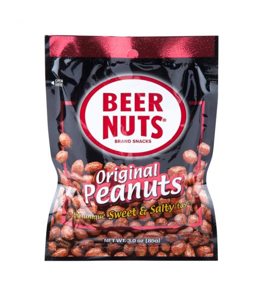 Beer Nuts Original Peanuts - 3oz (85g) Snacks and Chips