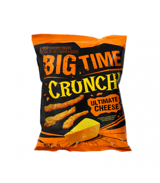 Big Time Crunch Ultimate Cheese Flavoured Snacks - 1oz (28g) Snacks and Chips