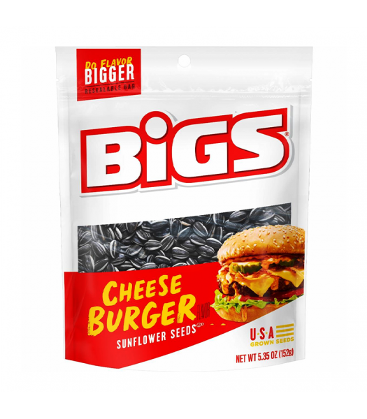 BIGS Sunflower Seeds - Cheeseburger - 5.35oz (152g)