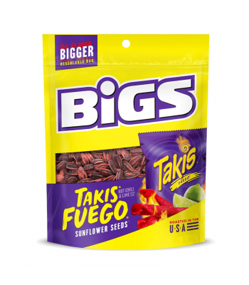 BIGS Sunflower Seeds Takis Fuego - 5.35oz (152g)  BIGS