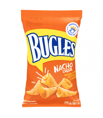 Bugles Nacho Cheese Corn Snacks - 7.5oz (212g) Snacks and Chips General Mills