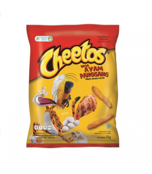 Cheetos Grilled Chicken - 75g  Snacks and Chips Frito-Lay