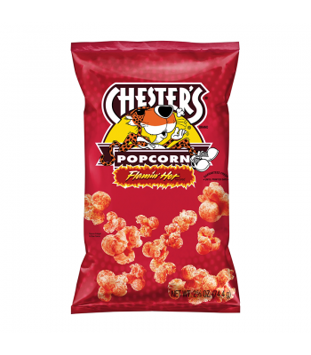 Clearance Special - Chester's Flamin' Hot Popcorn - 2.63oz (74.4g) ** Best Before: 16th May 2019 ** Clearance Zone