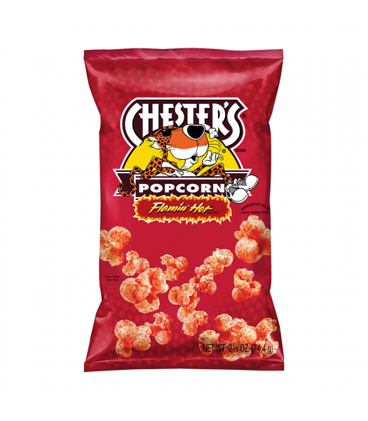 Chester's Flamin' Hot Popcorn - 2.63oz (74.4g) Snacks and Chips
