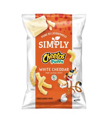 Simply Cheetos White Cheddar Puffs - 1.25oz (35g) Snacks and Chips Frito-Lay