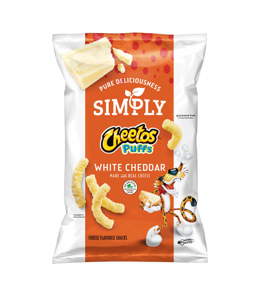 Simply Cheetos White Cheddar Puffs - 8oz (226g) Snacks and Chips Frito-Lay