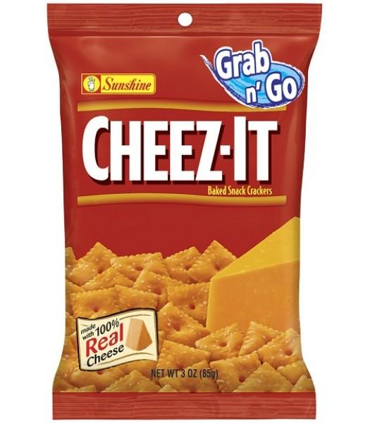 Cheez Its Original 3oz Big Bag (85g) Crackers Cheez It