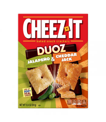 Cheez It Duoz Jalapeno & Cheddar Jack 12.4oz (351g)