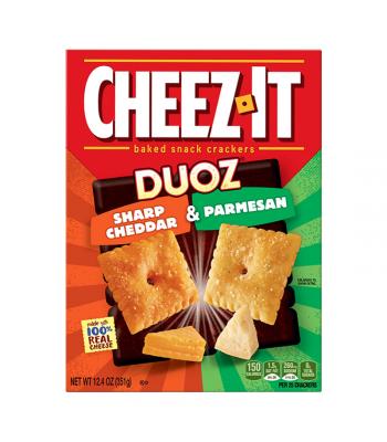 Cheez It Duoz Sharp Cheddar & Parmesan 12.4oz (351g)