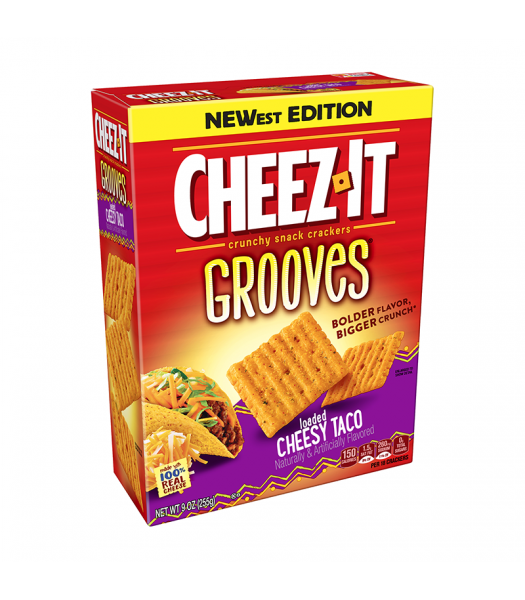 Cheez It Grooves Loaded Cheesy Taco - 9oz (255g)