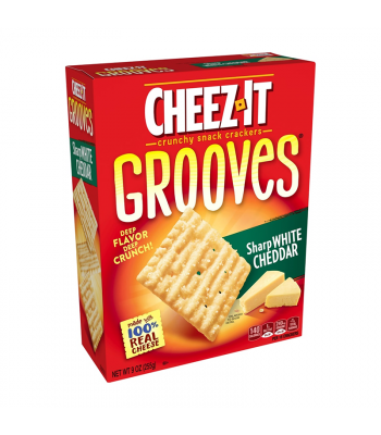 Cheez It Grooves Sharp White Cheddar - 9oz (255g)