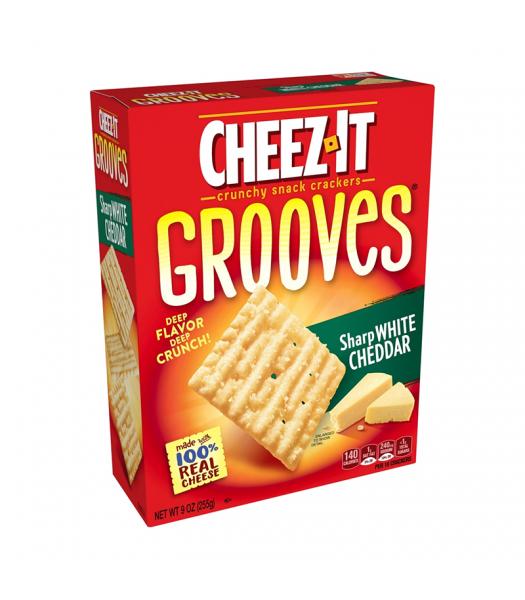 Cheez It Grooves Sharp White Cheddar - 9oz (255g)