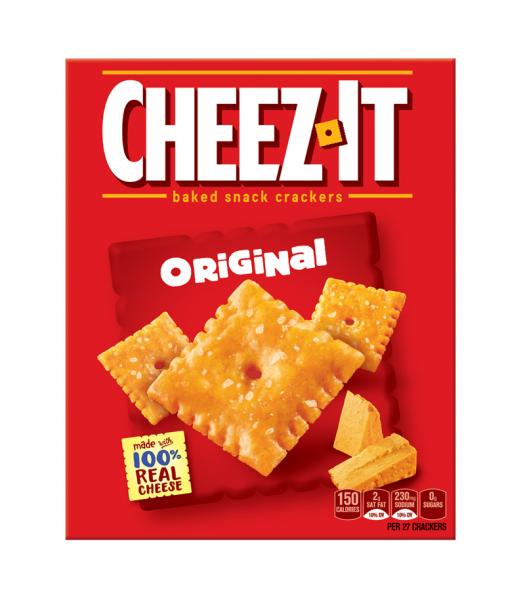 Cheez Its Original 7oz Box (198g) Crackers Cheez It