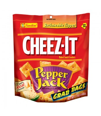 Cheez-It Pepper Jack Crackers - 7oz (198g) Snacks and Chips Cheez It