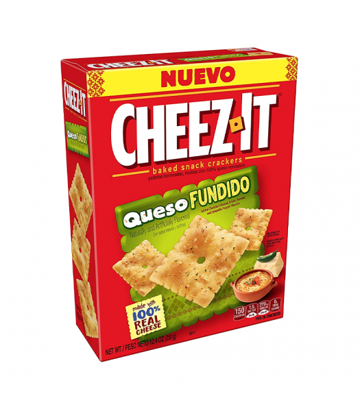 Cheez It Queso Fundido - 12.4oz (351g)