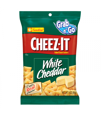 Cheez Its White Cheddar 3oz Big Bag (85g) Crackers Cheez It