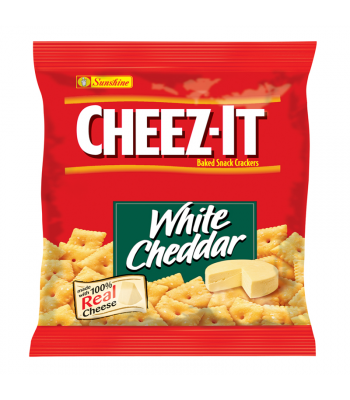 Cheez It Crackers White Cheddar 1.5oz (42g) Crackers Cheez-It