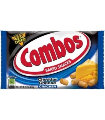 Combos Cheddar Cheese Crackers 1.7oz (48.2g) Crackers Combos