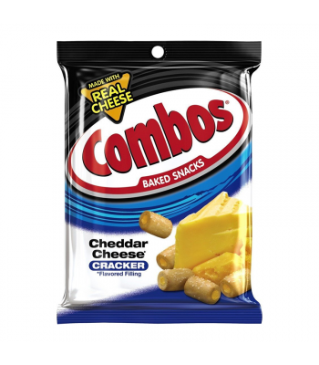 Combos Cheddar Cheese Crackers 6.3oz (178.6g) Crackers Combos