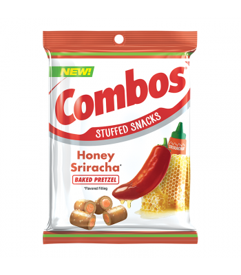 Combos - Honey Sriracha Pretzels - 6.3oz (178.6g) Snacks and Chips Combos