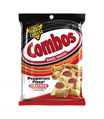 Combos Pepperoni Pizza Crackers 6.3oz (178.6g) Crackers Combos