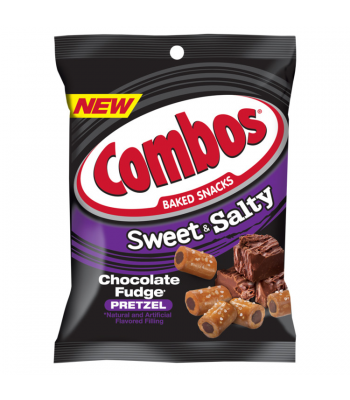 Combos - Chocolate Fudge - 6oz (170g)