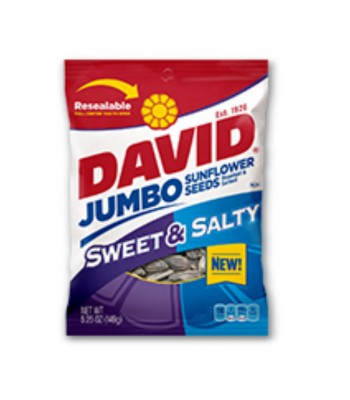 David's Sweet & Salty Jumbo Sunflower Seeds 5.25oz Nuts & Seeds