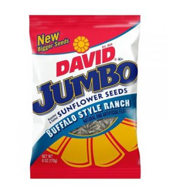 David's Sunflower Seeds Jumbo Buffalo Style Ranch 5.25oz (149g)