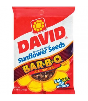 David's Sunflower Seeds BBQ 5.25oz (149g) Nuts & Seeds