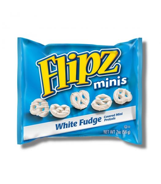 DeMet's Flipz Grab N Go Mini White Fudge Pretzels 2oz (57g) Pretzel Snacks DeMet's