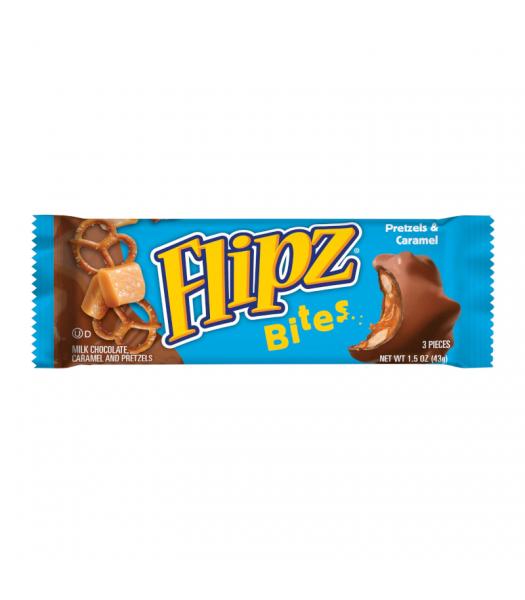 Flipz Pretzel Bites Bar 1.52oz (43g) Snacks and Chips