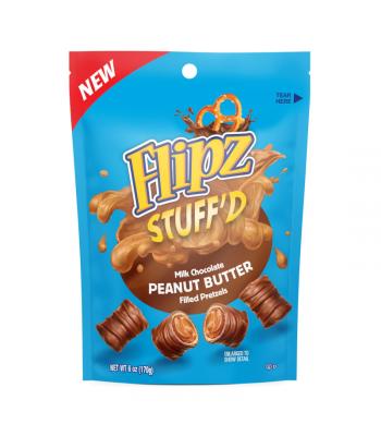 Flipz Stuff'D Peanut Butter Filled Pretzels 6oz (170g) Snacks and Chips